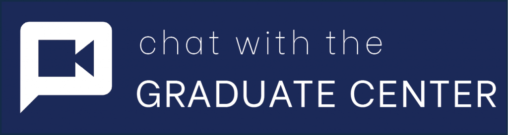 chat with the graduate center