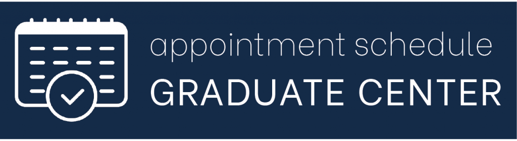 appointment schedule graduate center