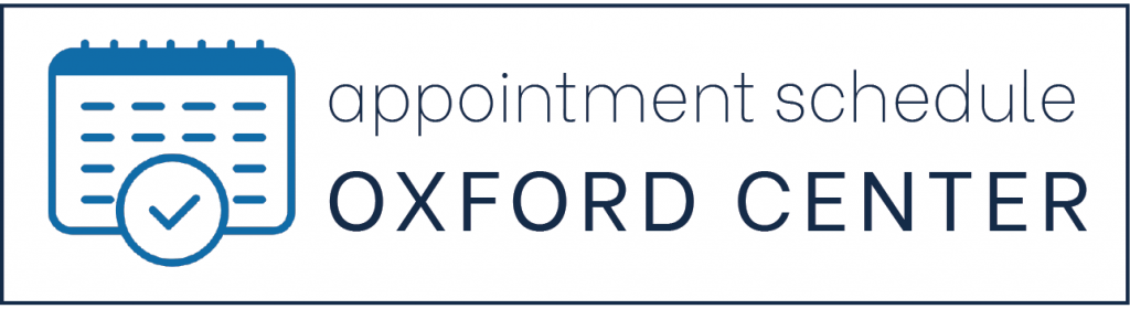 appointment schedule oxford center