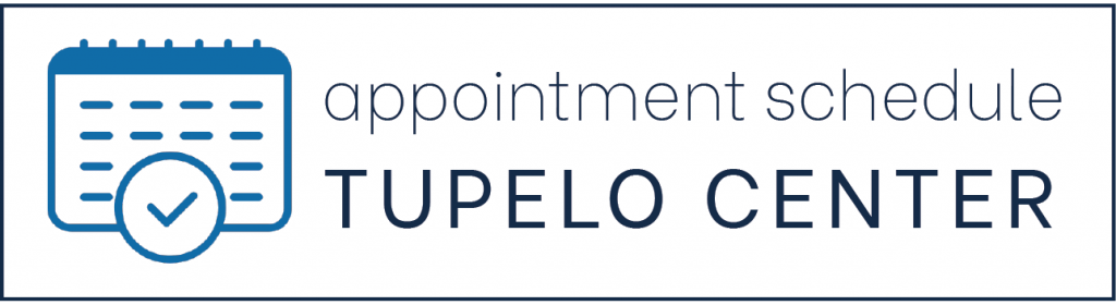 appointment schedule tupelo center