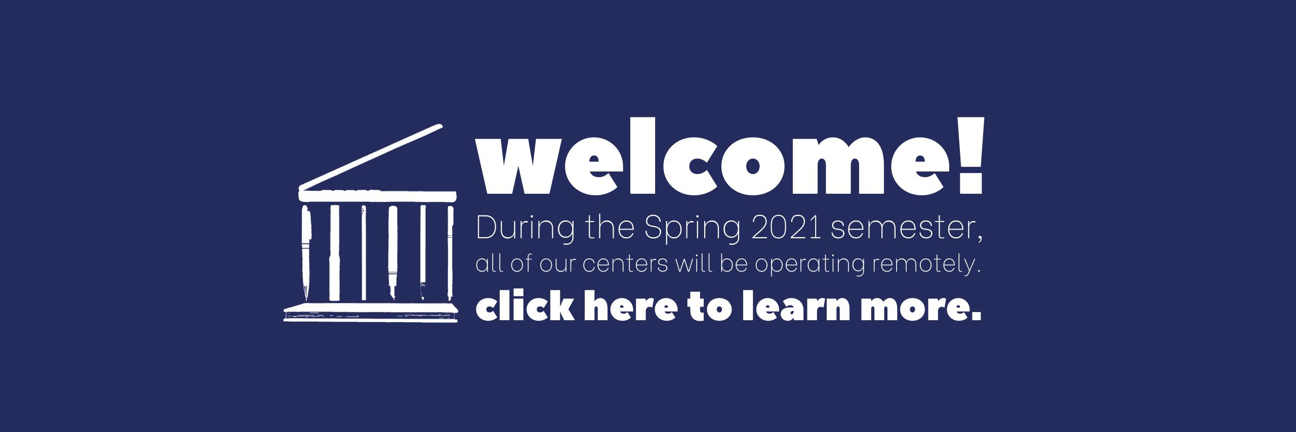 web banner - spring 2021